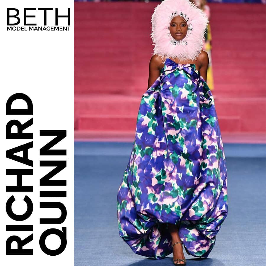 Mayowa At It For Richard Quinn Beth
